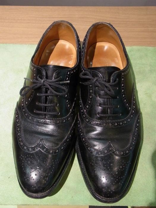 JOHN LOBB~靴磨き修理~ジョン・ロブ