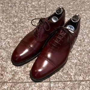 ガジアーノ ガーリング 靴磨き