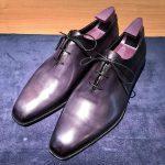 ベルルッティ 靴磨き