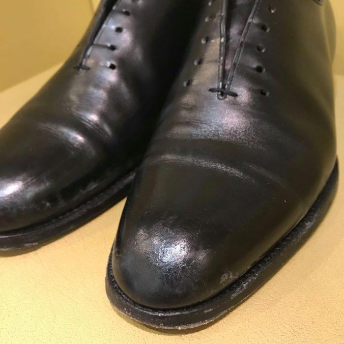 雨染み靴のクリーニングならShoe Shine WORKS