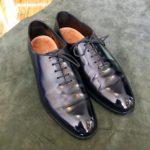ロイドフットウェアの靴磨きならシューシャインワークスにお任せください。