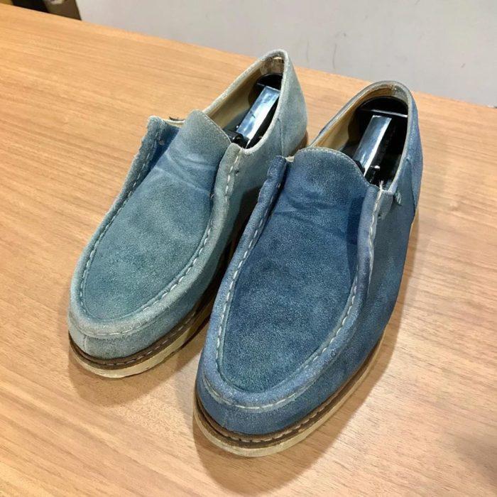 パラブーツの靴磨きと修理ならシューシャインワークスにお任せください。